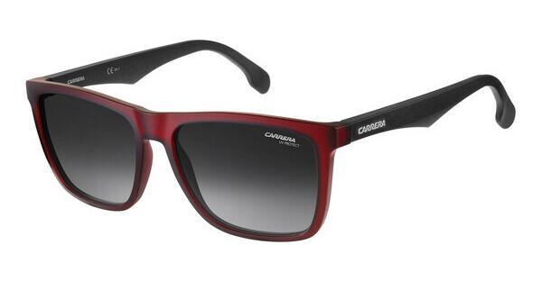 Carrera Eyewear Herren Sonnenbrille » CARRERA 8026/S«, schwarz, BLX/W6 - schwarz/rot