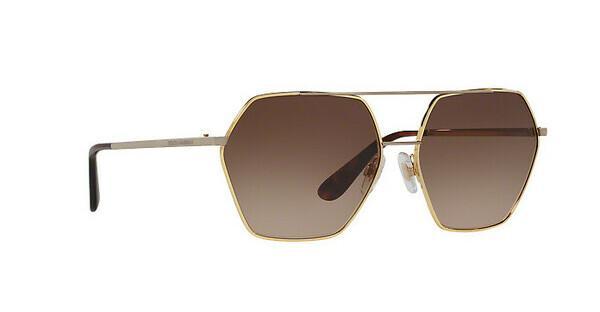 DOLCE & GABBANA Dolce & Gabbana Damen Sonnenbrille » DG2190«, schwarz, 12968G - schwarz/ schwarz