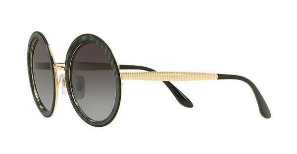 DOLCE & GABBANA Dolce & Gabbana Damen Sonnenbrille » DG2197«, schwarz, 13128G - schwarz/grau