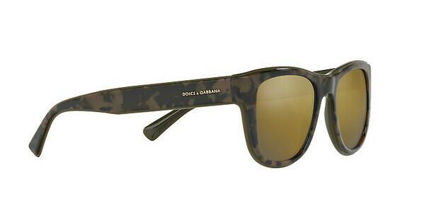 DOLCE & GABBANA Dolce & Gabbana Herren Sonnenbrille » DG4284«, schwarz, 3071W7 - schwarz/gold