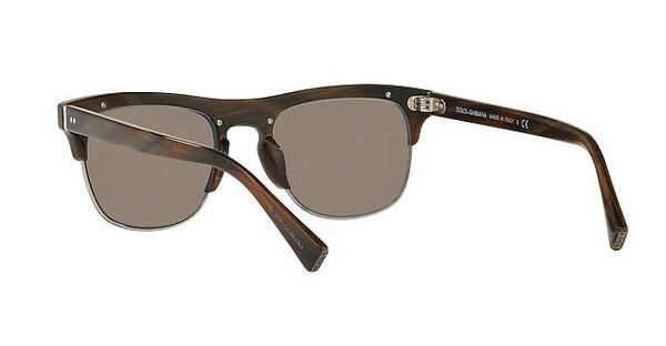 DOLCE & GABBANA Dolce & Gabbana Herren Sonnenbrille » DG4305«, rot, 31184R - rot/braun