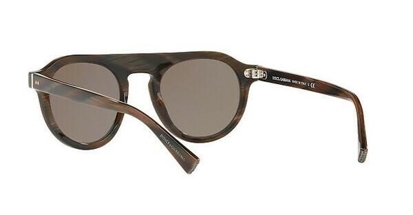 DOLCE & GABBANA Dolce & Gabbana Herren Sonnenbrille » DG4306«, rot, 31184R - rot/braun