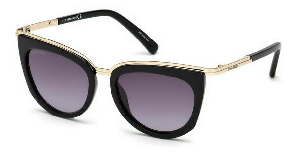 Dsquared2 Damen Sonnenbrille » DQ0290«, grau, 20B - grau/grau