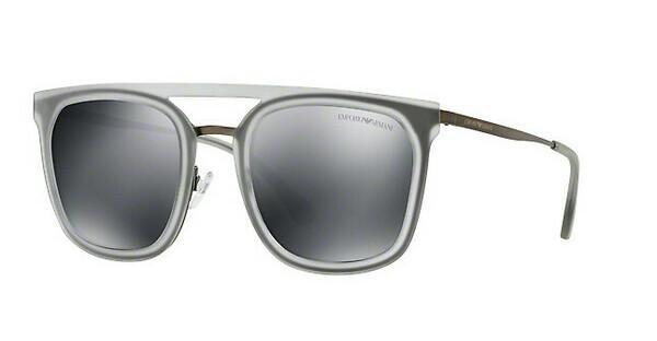 Emporio Armani Herren Sonnenbrille » EA2062«, grau, 30106G - grau/schwarz