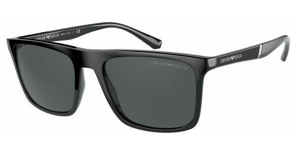 Emporio Armani Damen Sonnenbrille » EA2054«, silberfarben, 301511 - silber/grau