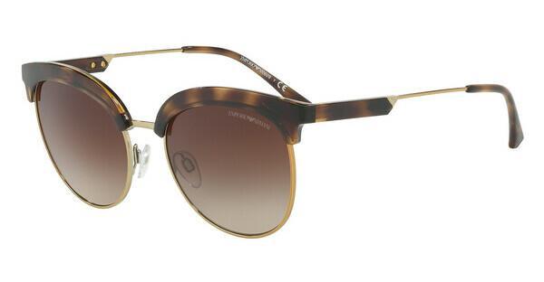 Emporio Armani Damen Sonnenbrille » EA4113«, braun, 502613 - braun/braun