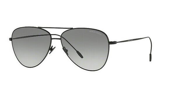 Giorgio Armani Herren Sonnenbrille » AR6049«, schwarz, 301411 - schwarz/grau