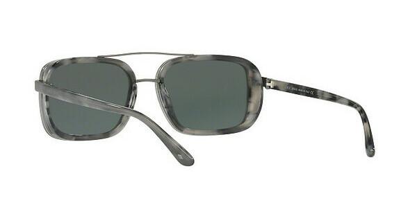 Giorgio Armani Herren Sonnenbrille » AR6056J«, braun, 300371 - braun/grün