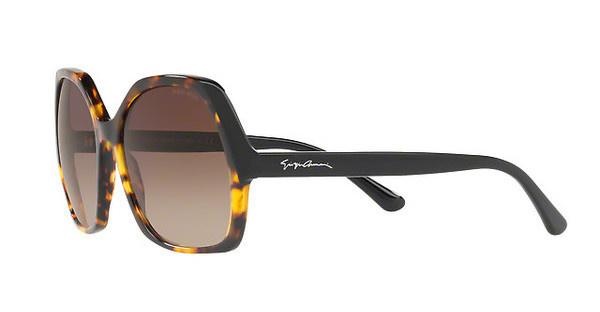 Giorgio Armani Damen Sonnenbrille » AR8099«, gelb, 558413 - gelb/braun