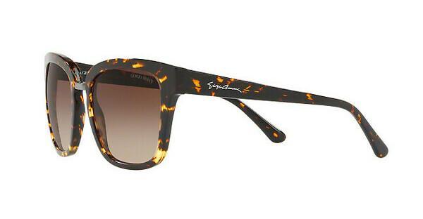 Giorgio Armani Damen Sonnenbrille » AR8106«, braun, 529413 - braun/braun