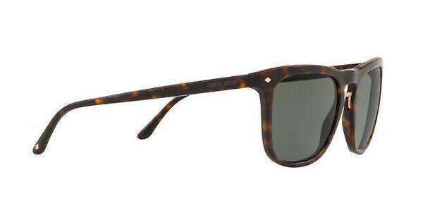 Giorgio Armani Herren Sonnenbrille » AR8107«, braun, 508931 - braun/grün