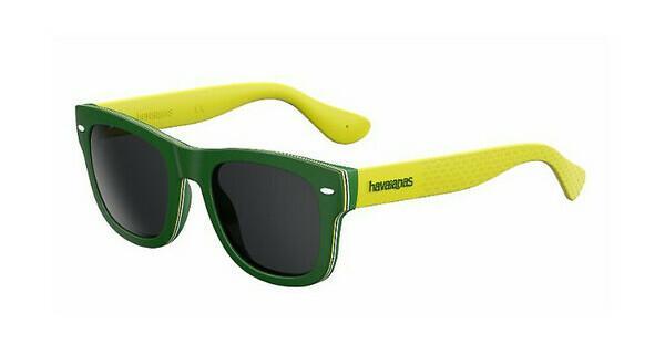 Havaianas Herren Sonnenbrille Brasil/M Y1 1RI, Grün (Green Yellow/Grey Grey), 50