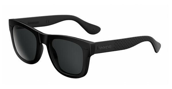 Havaianas Herren Sonnenbrille Paraty/L Y1 Qfu, Schwarz (Black/Grey Grey), 52