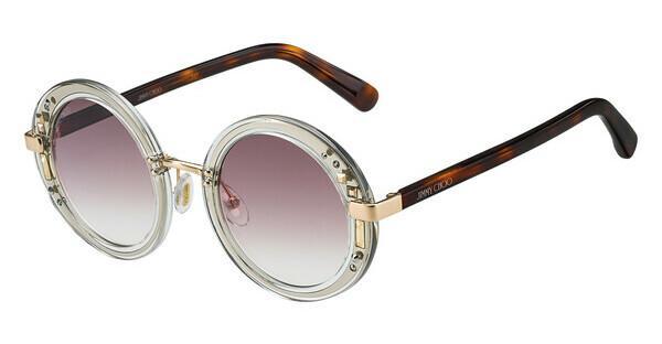 JIMMY CHOO Jimmy Choo Damen Sonnenbrille » GEM/S«, braun, 2KQ/FW - braun/rot