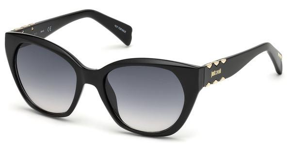 Just Cavalli Damen Sonnenbrille » JC825S«, schwarz, 01B - schwarz/grau