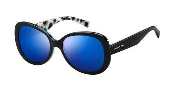 MARC JACOBS Marc Jacobs Damen Sonnenbrille » MARC 261/S«, schwarz, E5K/XT - schwarz/blau