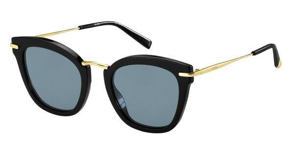 Max Mara Damen Sonnenbrille » MM EILEEN«, schwarz, 807/KU - schwarz/blau
