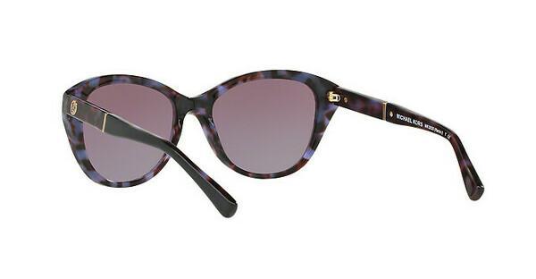 MICHAEL KORS Michael Kors Damen Sonnenbrille »RANIA I MK2025«, lila, 31878H - lila/ braun