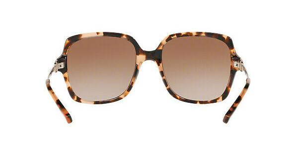MICHAEL KORS Michael Kors Damen Sonnenbrille »BIA MK2053«, orange, 315513 - orange/braun