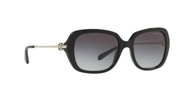 MICHAEL KORS Michael Kors Damen Sonnenbrille »CARMEL MK2065«, schwarz, 30058G - schwarz/grau