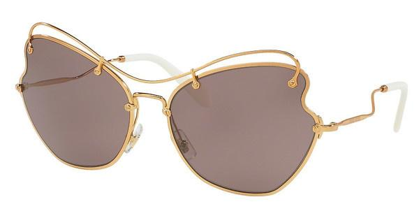 Miu Miu   MU 56RS 7OE6X1 PURPLE BROWNANTIQUE GOLD