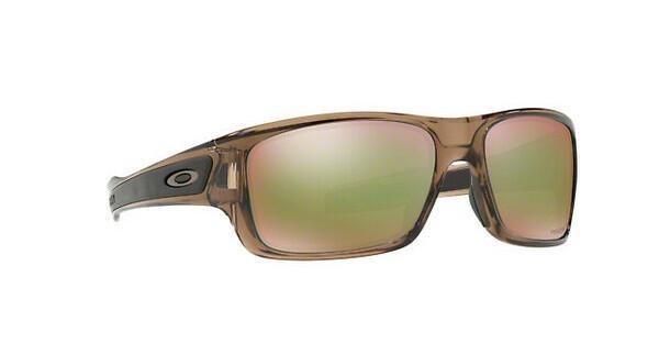 Oakley Herren Sonnenbrille »TURBINE XS OJ9003«, braun, 900309 - braun/blau