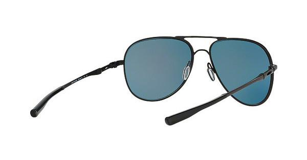 Oakley Sonnenbrille »Elmont OO4119«, schwarz, 411904 - schwarz/rot