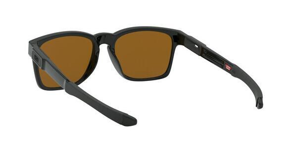 Oakley Herren Sonnenbrille »CATALYST OO9272«, schwarz, 927204 - schwarz/ gelb