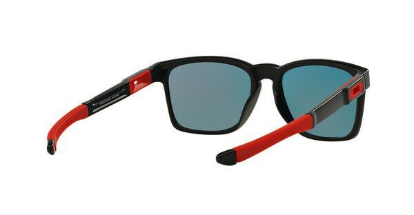 Oakley Herren Sonnenbrille »CATALYST OO9272«, schwarz, 927225 - schwarz/rot