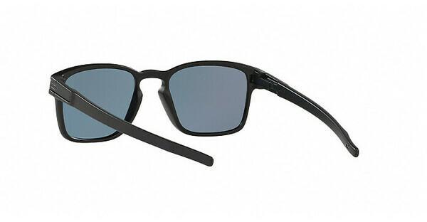 Oakley Sonnenbrille »LATCH SQUARED OO9353«, schwarz, 935303 - schwarz/rot