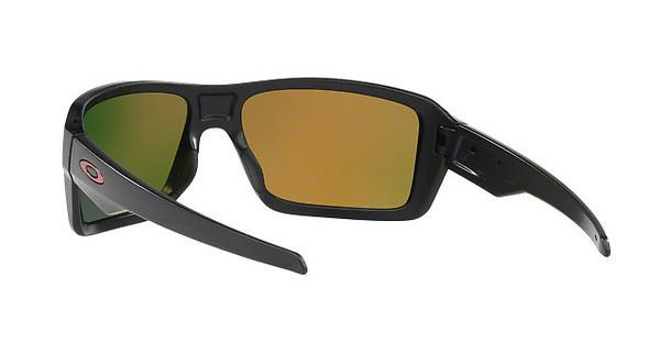 Oakley Herren Sonnenbrille »DOUBLE EDGE OO9380«, schwarz, 938005 - schwarz/rot