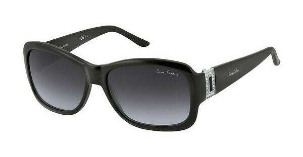 Pierre Cardin Damen Sonnenbrille » P.C. 8451/S«, schwarz, 807/9O - schwarz/grau