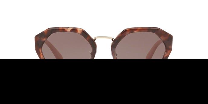 PRADA Prada Damen Sonnenbrille » PR 04TS«, rosa, UE06X1 - rosa/ braun