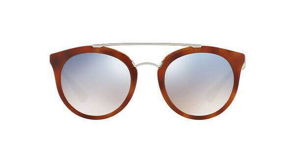 PRADA Prada Damen Sonnenbrille »CINEMA PR 23SS«, braun, USE5R0 - braun/silber