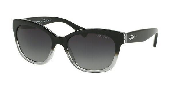 RALPH Ralph Damen Sonnenbrille » RA5218«, schwarz, 1448T3 - schwarz/grau