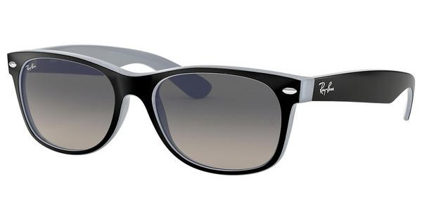 Ray-Ban   RB2132 630971 GREY GRADIENT DARK GREYMATTE BLACK ON OPAL ICE
