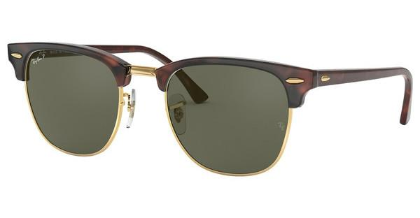 Ray-Ban   RB3016 990/58 CRYSTAL GREEN POLARIZEDRED HAVANA