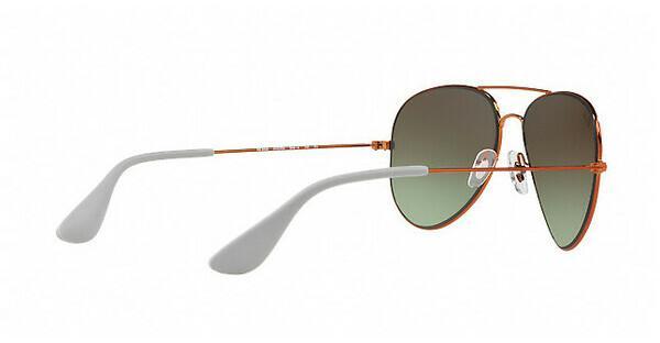 RAY BAN RAY-BAN Sonnenbrille » RB3558«, braun, 9002E8 - braun/grün
