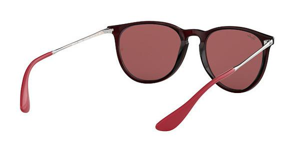 RAY BAN RAY-BAN Damen Sonnenbrille »ERIKA RB4171«, braun, 6339D0 - braun/rot