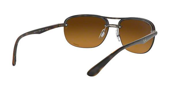 RAY BAN RAY-BAN Herren Sonnenbrille » RB4275CH«, grau, 876/6O - grau/gold