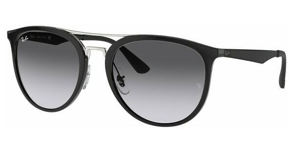 RAY BAN RAY-BAN Sonnenbrille » RB4285«, schwarz, 601/8G - schwarz/grau