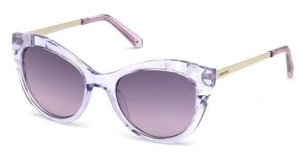 Swarovski Damen Sonnenbrille » SK0172«, lila, 78Z - lila/lila