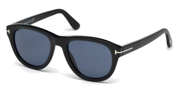 Tom Ford Herren Sonnenbrille »Benedict FT0520«, schwarz, 01V - schwarz/blau