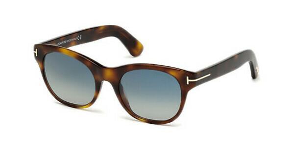 Tom Ford Damen Sonnenbrille » FT0613«, gelb, 53W - gelb/blau